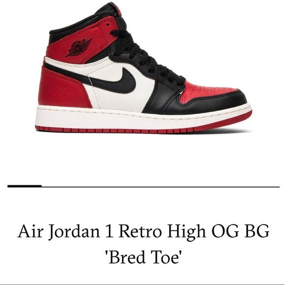 01aa72153c3fa4 Retro 1 Air Jordan ♥ Bred Toe. M 5b2902913e0caa599ce99925